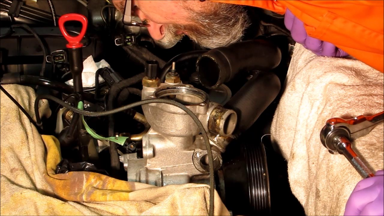 Mercedes benz w202 c280 water pump replacement