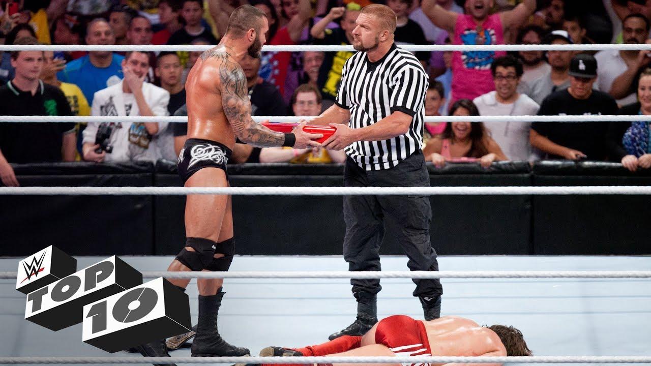 Greatest SummerSlam endings: WWE Top 10, Aug. 11, 2018