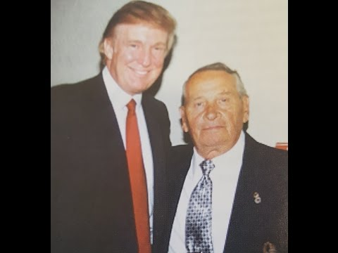 Donald Trump and Theodore Dobias at New York Military Academy (NYMA)