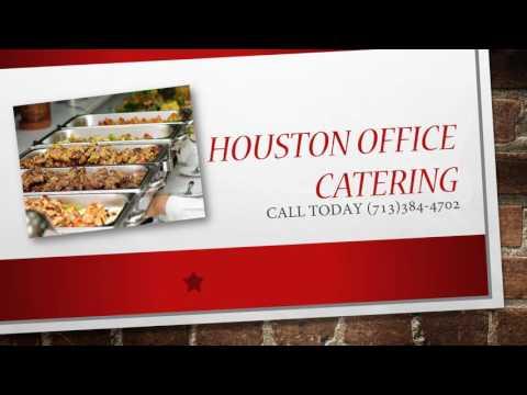 Houston Office Catering Menu