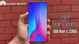 Huawei Nova 4 - 100% Screen With 48MP DSLR Camera, Price, features, Release date india