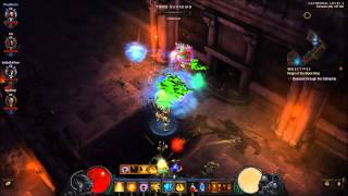 Diablo 3 (PC) : Random Skeleton King run 2.0.1 patch.