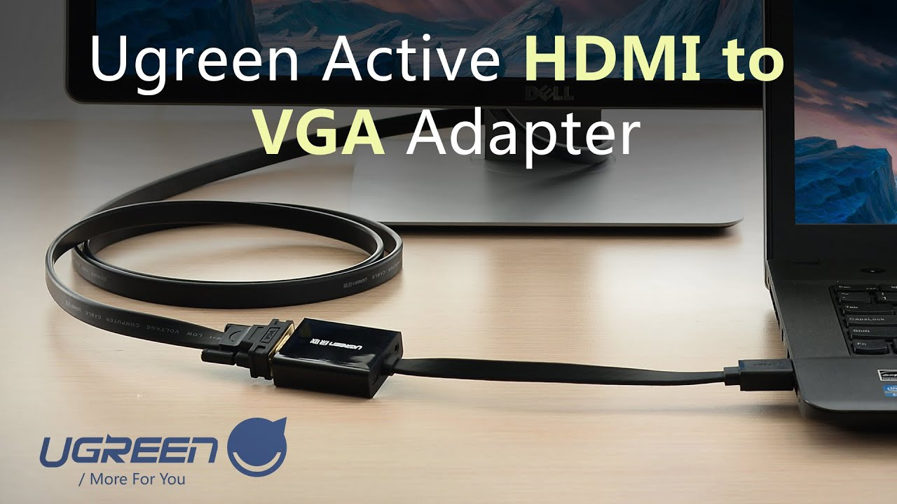 Ugreen Active Hdmi To Vga Adapter User Guide Youtube