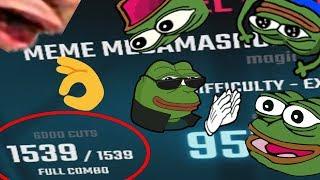MEME MEGA MASHUP 2 HAS BEEN FULL COMBO'D