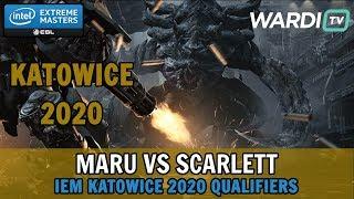 Maru vs Scarlett (TvZ) - IEM Katowice 2020 Qualifiers