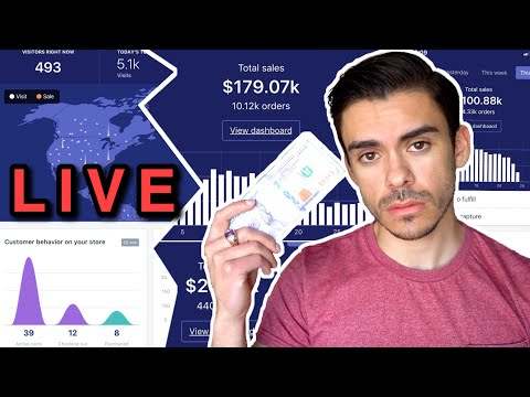 $0 - $2,400/day with Shopify Dropshipping | LIVE Facebook Ads  Case Study thumbnail