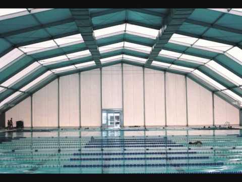 Pabellones desmontables cubiertas deportivas y piscinas for Piscines demontables