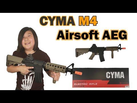 CYMA CM.606 CQB-R M4 AEG Airsoft Rifle