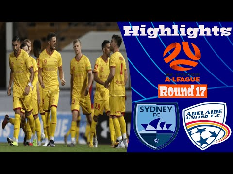 Sydney Adelaide United Goals And Highlights