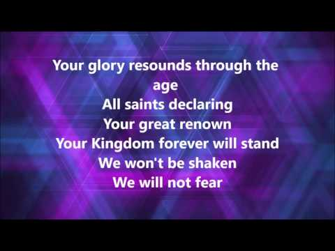 Mighty Warrior with lyrics by Elevation Worship