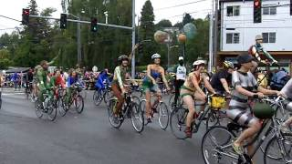 Fremont Fair Summer Solstice Parade Bicycle  2010