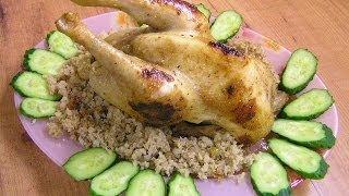 Фаршированная курица - видео рецепт