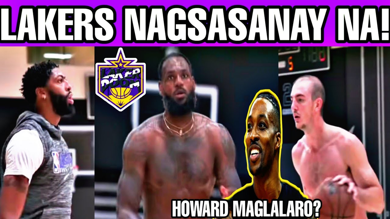 Ang latest workout ni LBJ,AD at AC! Howard maglalaro pa ba? LeBron lumapad ang katawan!