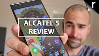 Alcatel 5 Full Review | Feature-packed budget mobile