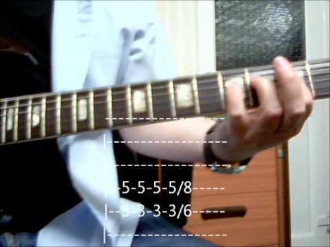 Uriah Heep Gypsy, guitar lesson - w/tabs