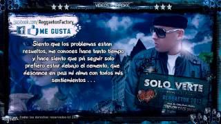 Cosculluela - -Solo Verte- con Letra  ★New Romantic Reggaeton 2013★