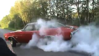 Awesome Muscle Cars Burnouts [HD]