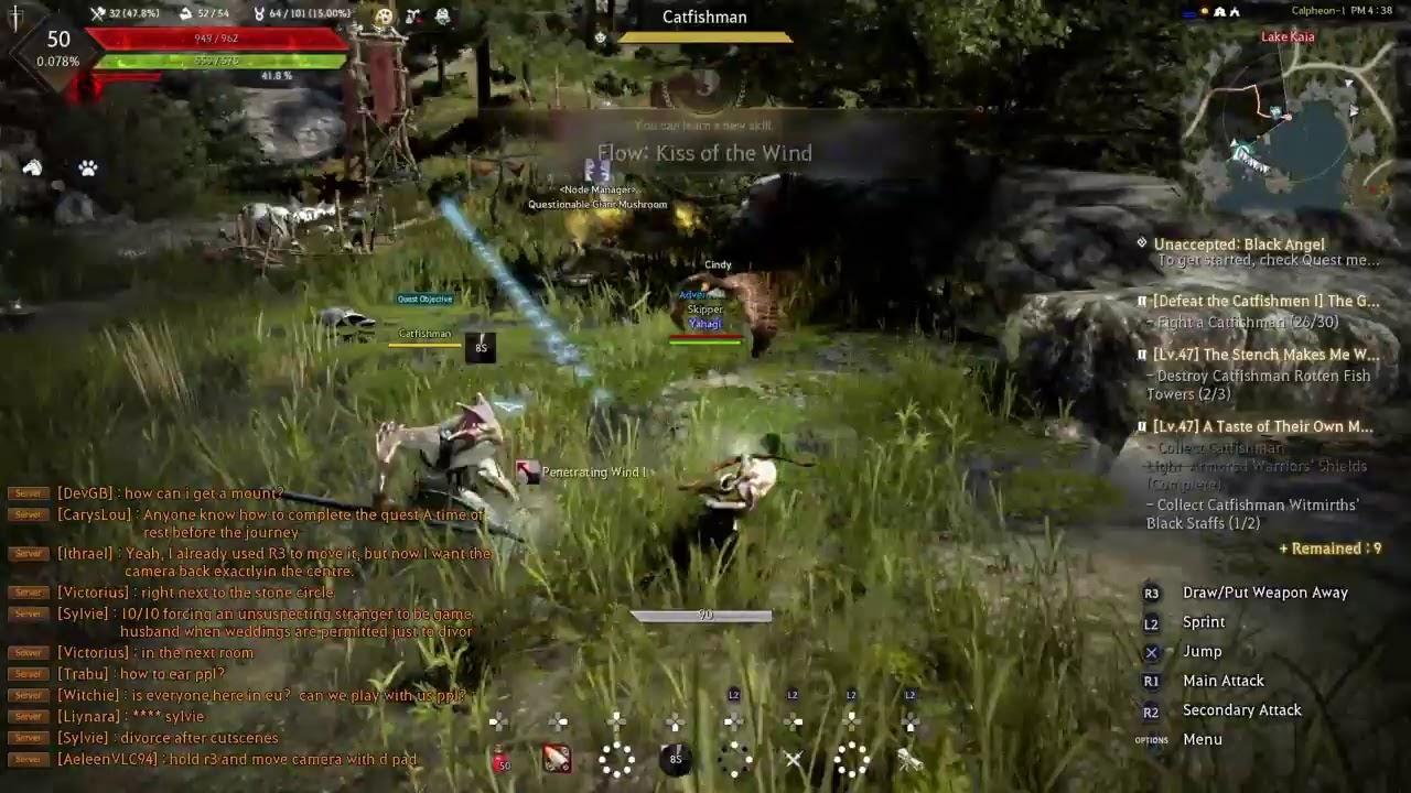 Black desert online: PlayStation 4 open beta [day 3]