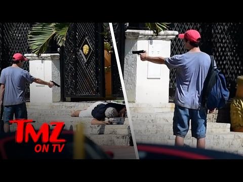 Versace Murder Scene Recreated! | TMZ TV