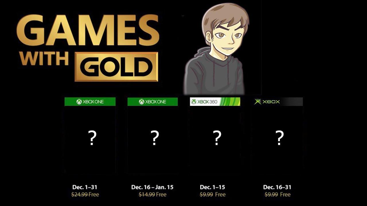 Xbox Live Gold Diciembre 2018 Juegos Gratis Youtube