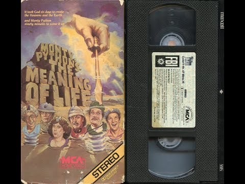 Opening to Monty Python's The Meaning of Life 1983 VHS [Better quality]