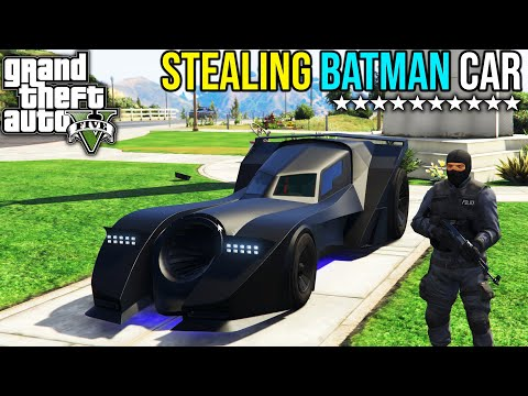 STEALING BATMAN CAR IN GTA 5 | GTA V GAMEPLAY #18 | iRonik