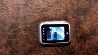 Беспроводной видеоглазок для входной двери в виде обычного