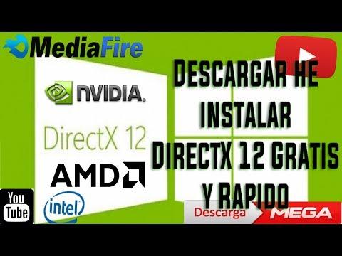directx 12 para win xp