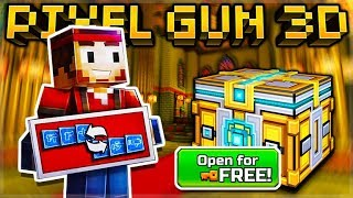 CRAZY GLITCH LET PLAYERS OPEN SUPER CHESTS FOR FREE! & NEW WEAPON UNLOCK SYSTEM | Pixel Gun 3D