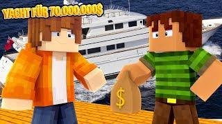 ICH KAUFE eine 70.000.000$ YACHT?! - Minecraft ALLTAG