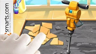 Play with construction tools and build fun house projects with dr Panda Handyman (game for kids)