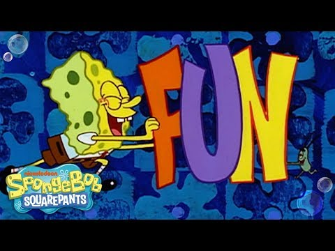 Sing Along w/ the F.U.N. Song!! #TuesdayTunes | SpongeBob