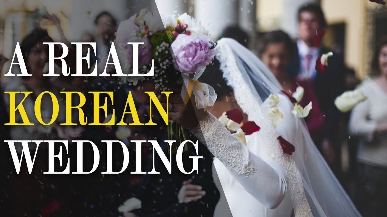 [한글 자막] What are Korean Weddings Like? (Let's experience it!)