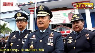 UPACARA HDKD TAHUN 2018 KANWIL KEMENKUMHAM PAPUA
