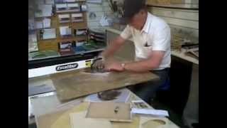Hand Cutting Wooden Jigsaw Puzzles The Victory Way