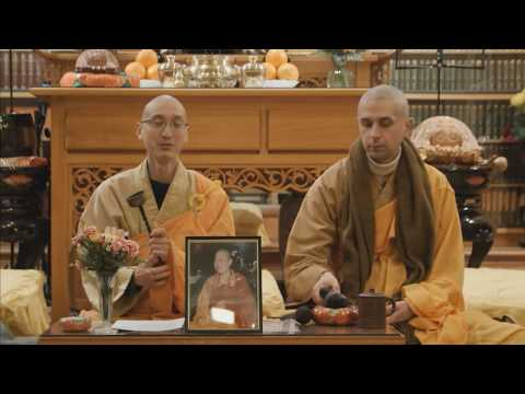 Avatamsaka Sutra lecture at Berkeley Buddhist Monastery, 24 February 2017