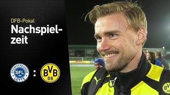 Marcel Schmelzer und Michael Zorc zur Spielabsage in Lotte | Sportfreunde Lotte - BVB