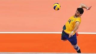 Top 20 Best Volleyball Spikes - Lucas Saatkamp (Middle Blocker)