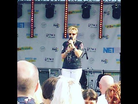 Hazell Dean @ Newcastle Pride 16/07/16 Searchin'