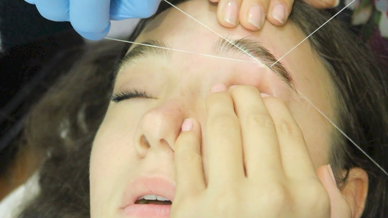 I Got My Eyebrows Threaded First Time Fionafrills Vlogs Youtube