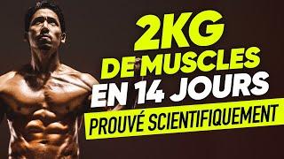 COMMENT J'AI GAGNÉ 2KG DE MUSCLES en 14 jours !?