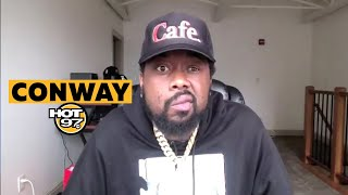 Conway On How Music Saved His Life, Working w/ Method Man, + Story Behind Recent Collabs