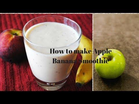 How To Make Apple Banana Smoothie In Nutri Ninja Blender
