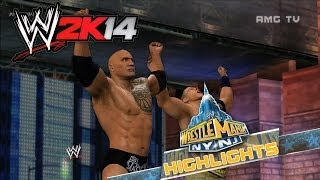 WWE 2K14 - WrestleMania 29 Highlights