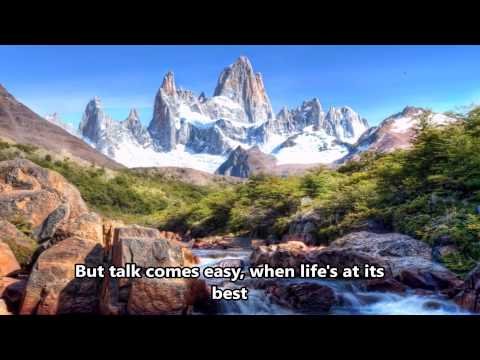 God on the mountain - Lynda Randle - Lyrics- (HD scenic)