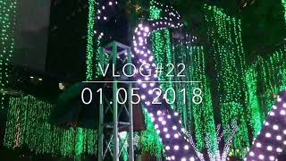 FESTIVAL OF LIGHTS @AYALA TRIANGLE|VLOG#22