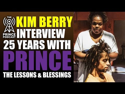 Kim Berry, Prince's hairstylist for over 25 years shares heartfelt memories