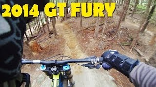 2014 GT Fury Downhill Mountain Biking - Whistler Bike Park