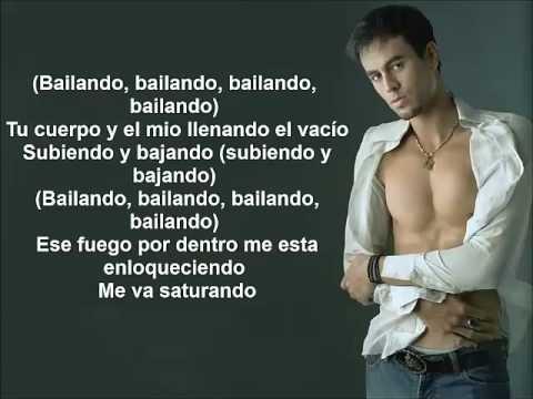 Bailando Enrique Inglesias Testo Youtube