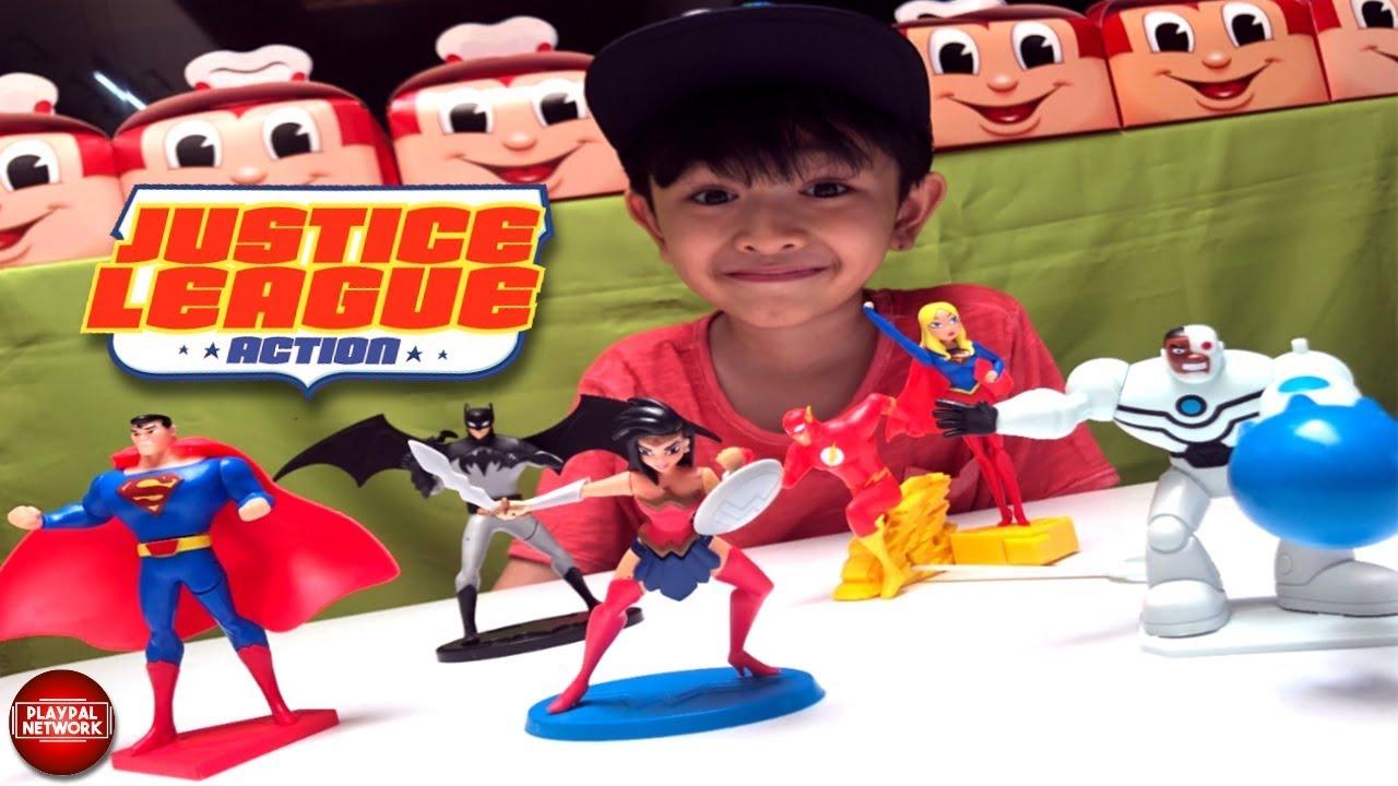 2019 Jollibee Justice League Kiddie Meal 6 Toys Liam